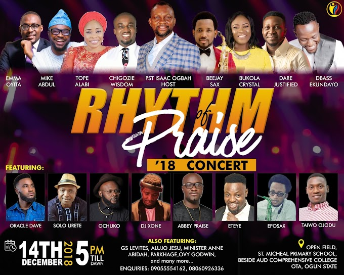 Event: RHYTHM OF PRAISE CONCERT 2018 | @PraiseRhythm