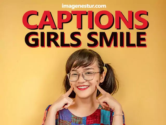 Captions-for-Girls-Smile