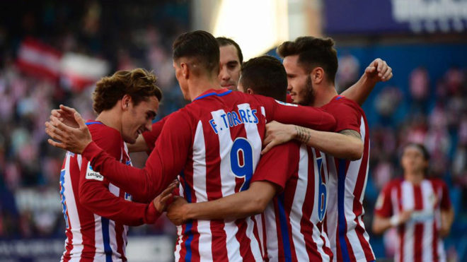 Atletico Madrid close in on third-place Sevilla