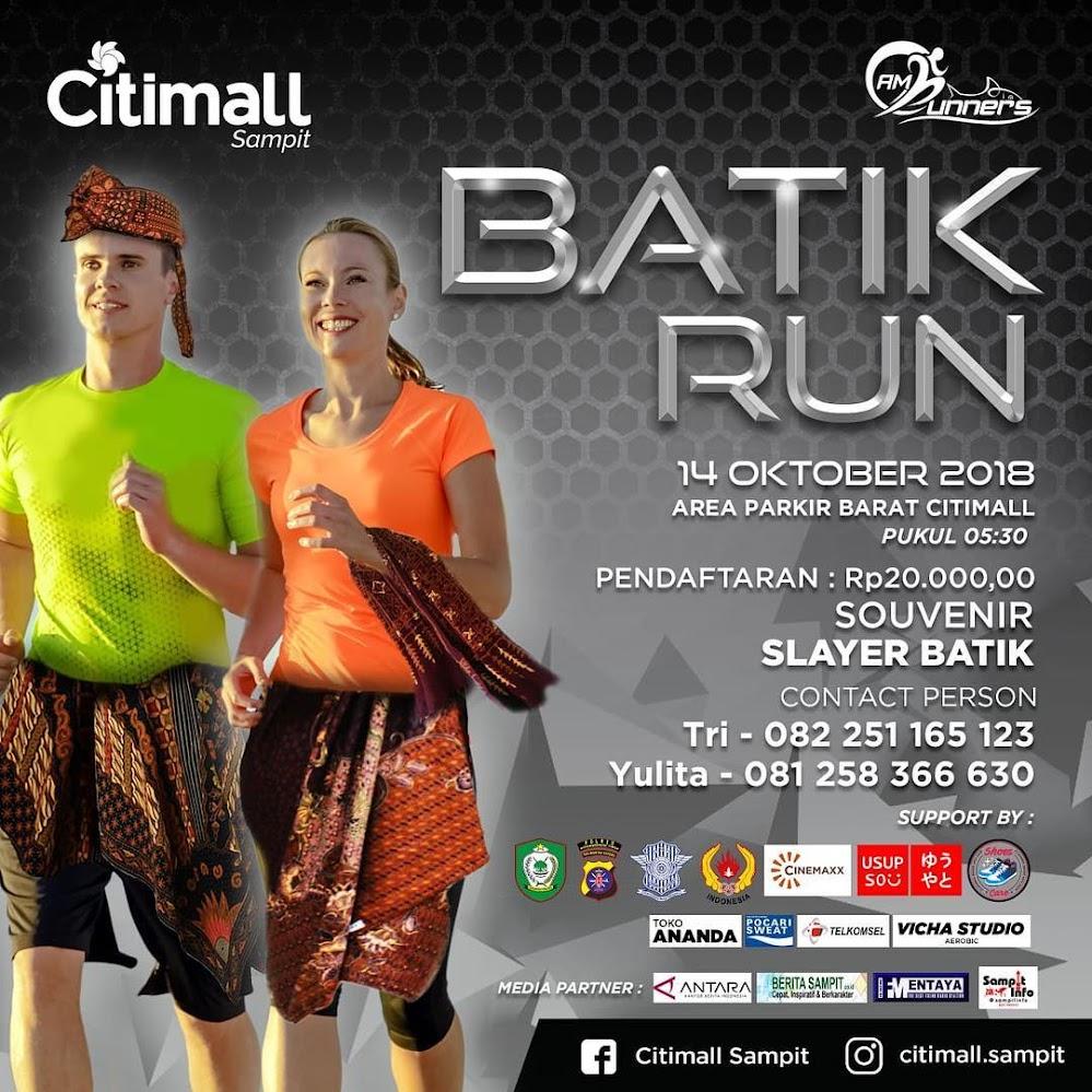 AM Runners Batik Run • 2018