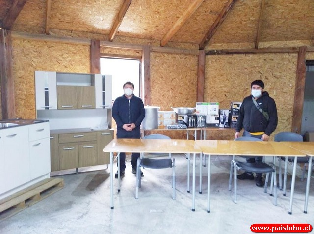 Comunidad Huilliche implementa su sede comunitaria