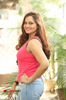 Tollywood Actress Ashwini Latest Stills in Ripped Jeans  0006.JPG