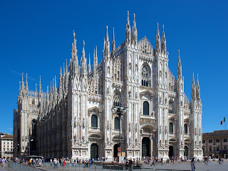 The Duomo in Milan, where Gaffurio was maestro di cappella from 1484 until his death in 1522