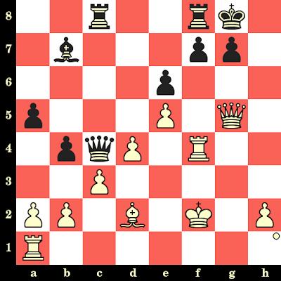 Les Blancs jouent et matent en 4 coups - Karl Ahues vs Birger Rasmusson, Bad Niendorf, 1934