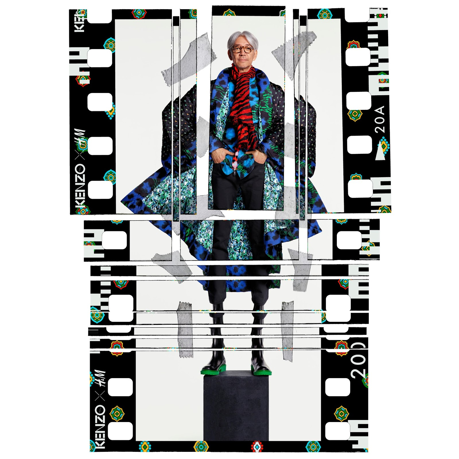 dfe3ff5b Are you ready for the collection arriving in over 250 selected H&M stores  worldwide, as well as online, on November 3? Kenzo x H&M The campaign by  Jean-Paul ...