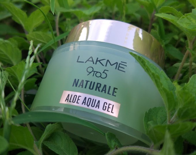 Lakme 9 To 5 Naturale Aloe Aqua Gel Review - Peachypinkpretty