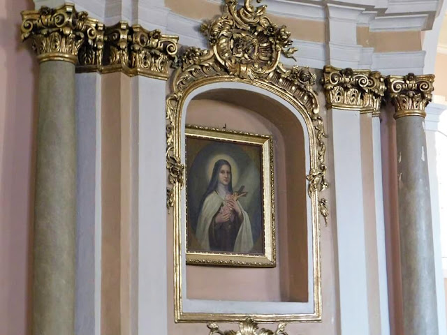 kościół, gościeszyn, wyposażenie, złocenia