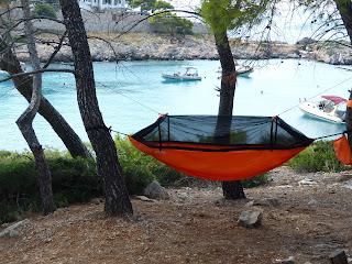 Wild Hammock Camping Greece