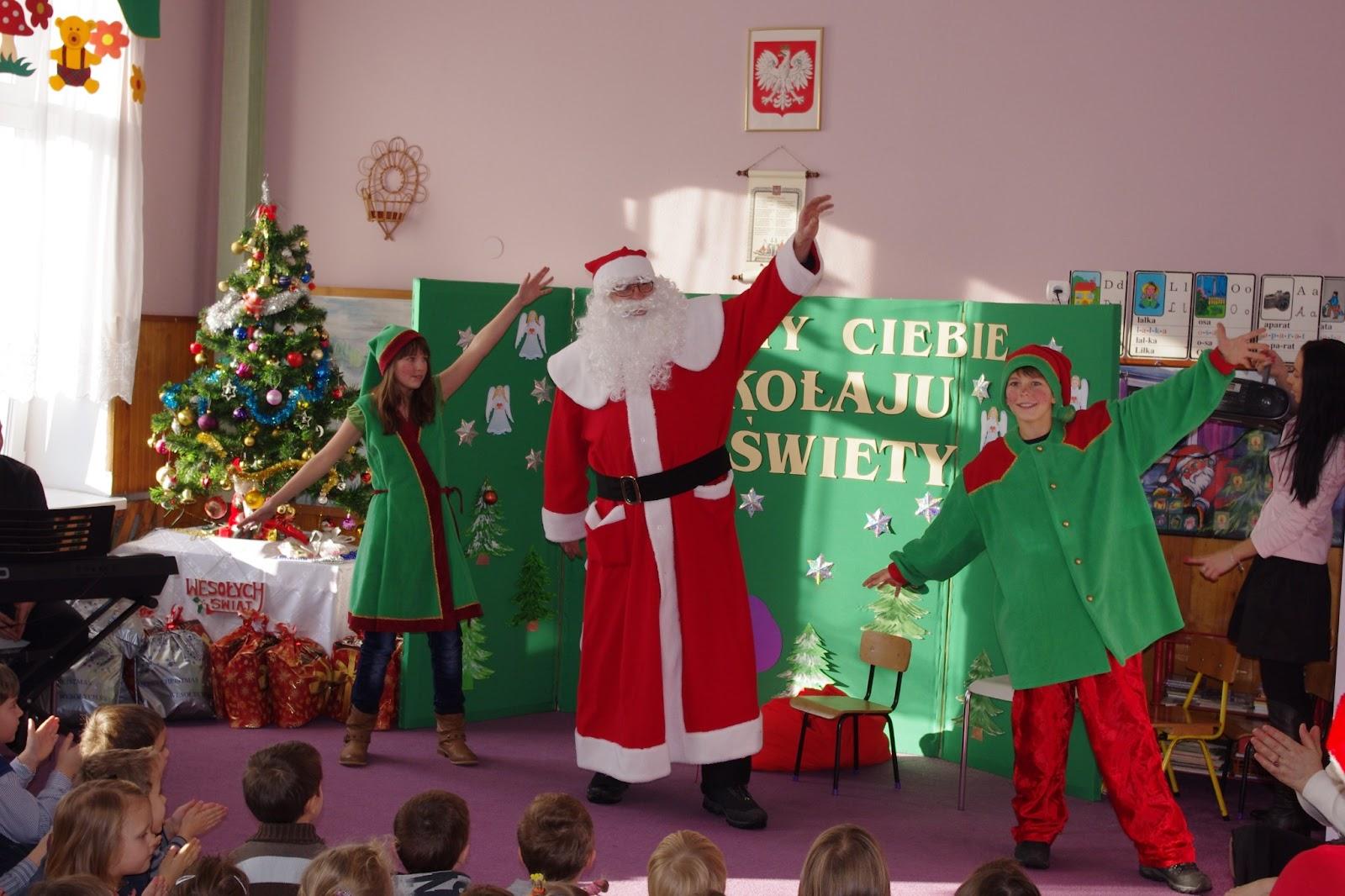 Przyjechał święty Mikołaj