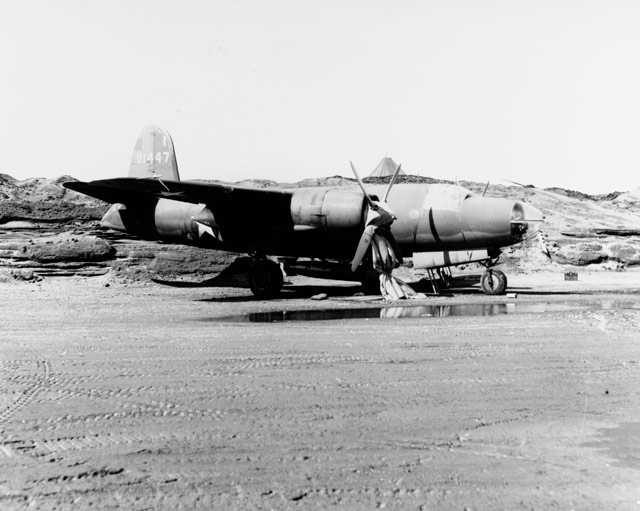A USAAF B-26 in the Aleutians, 11 May 1942 worldwartwo.filminspector.com