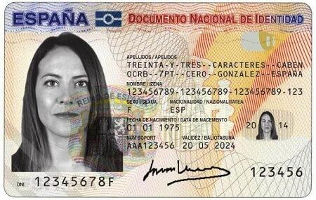 dni español de no residente