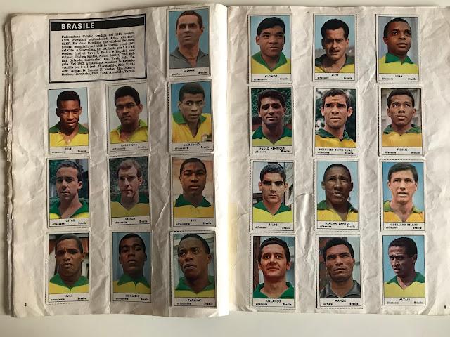 Figurine Brasile Tempo '66