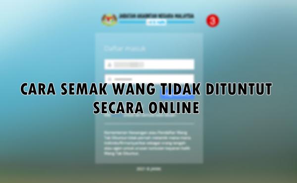 CARA SEMAK WTD online