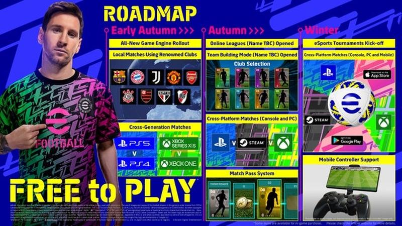 efootball free to play menu