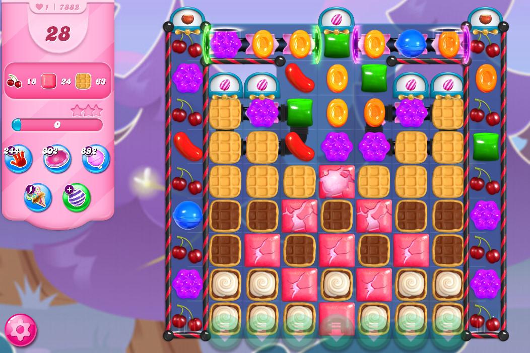 Candy Crush Saga level 7882