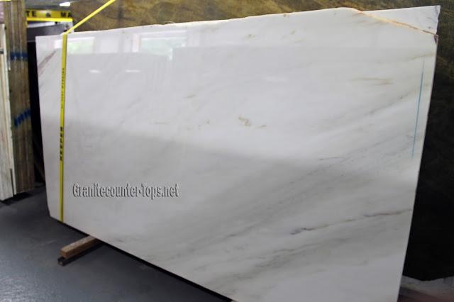 Crema Delicato Extra Polishing White Marble Slab