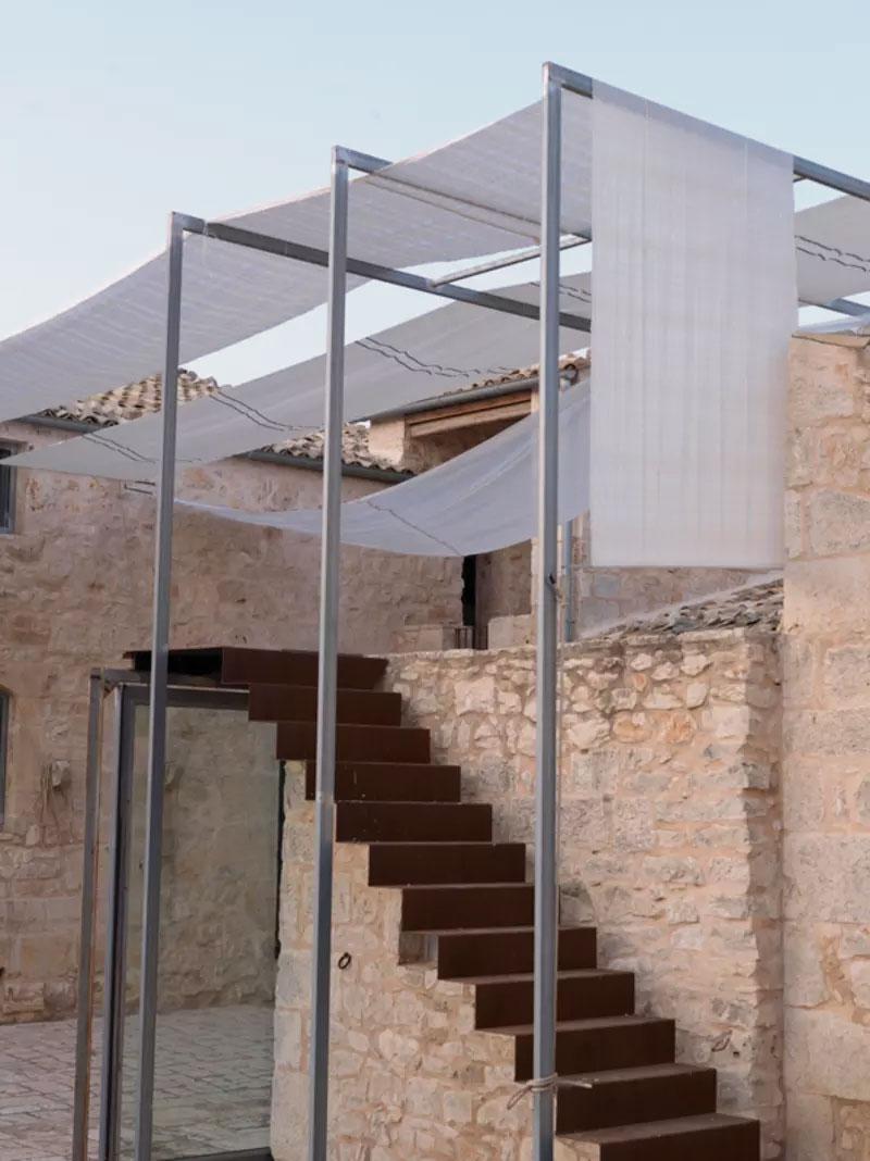 Restauro conservativo di un'antica masseria siciliana