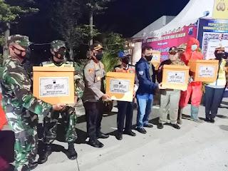 Kapolda Jateng Monitoring Pengamanan Nataru Di Restarea Km 391 A