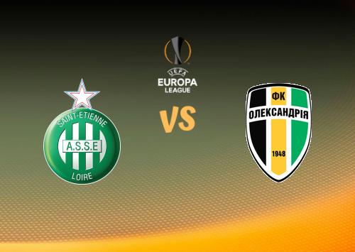 Saint-Étienne vs Oleksandria  Resumen