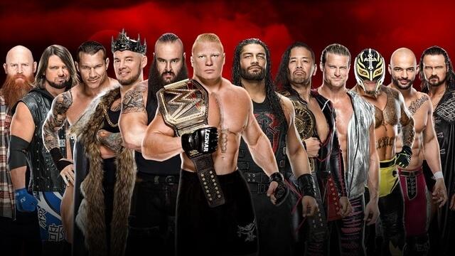 WWE Royal Rumble 2020 के पुरे मैच कार्ड्स