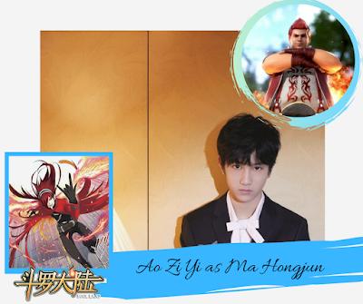 Douluo Continent: Ao Zi Yi as Ma Hongjun