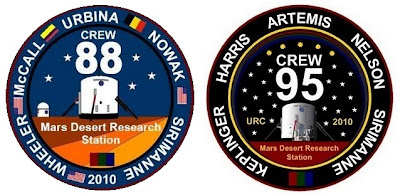 MDRS Crew Patches