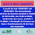 ALERTA NOVO HORIZONTE ( TOQUE DE RECOLHER )