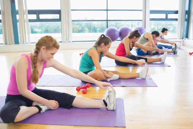 stretching hamstrings - lower back pain