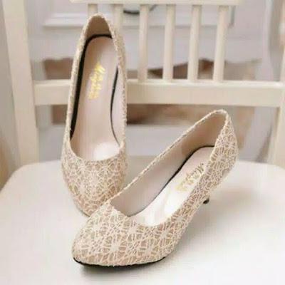 gudang sandal sepatu high heels murah