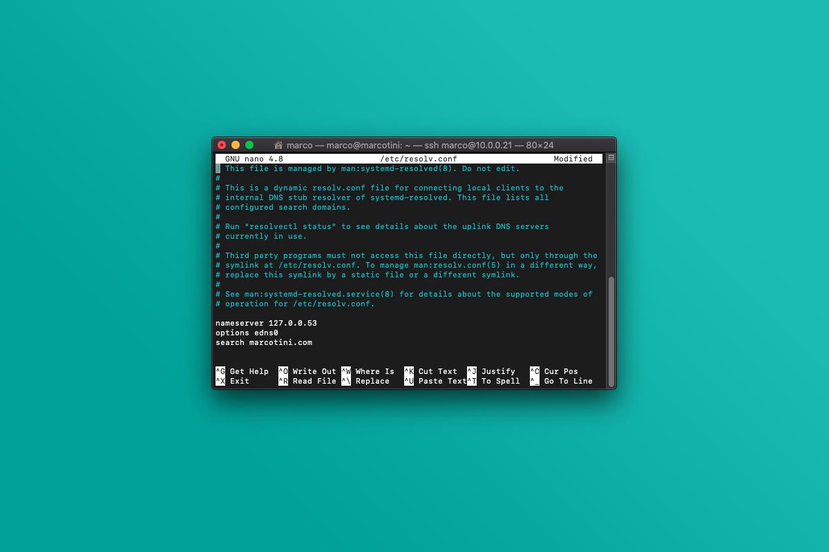Come modificare e forzare le impostazioni del DNS su Linux