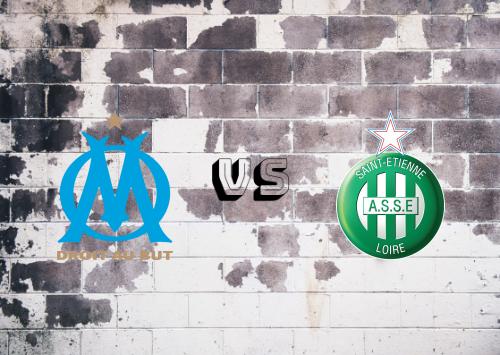 Olympique Marseille vs Saint-Étienne  Resumen