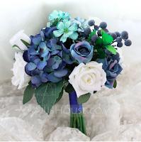 Ramo en tonos azules