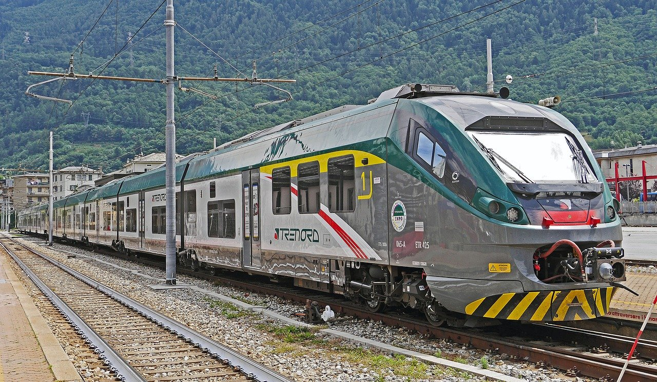 Regional trains of Trenord in Italy