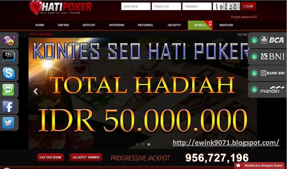 Uang Asli Indonesia Agen Judi Poker Line Terpercaya Indonesia