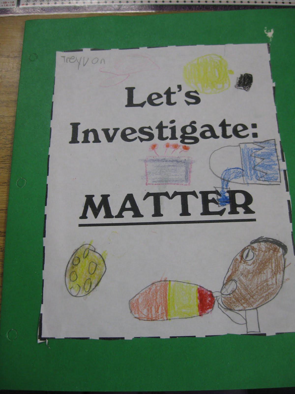 Third Grade Properties Matter