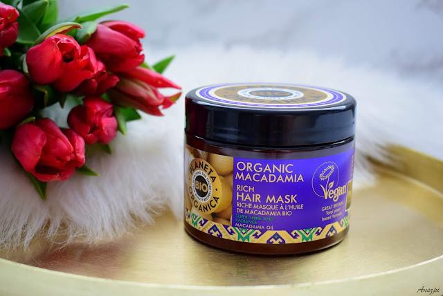 Maska do włosów Organic Macadamia Planeta Organica