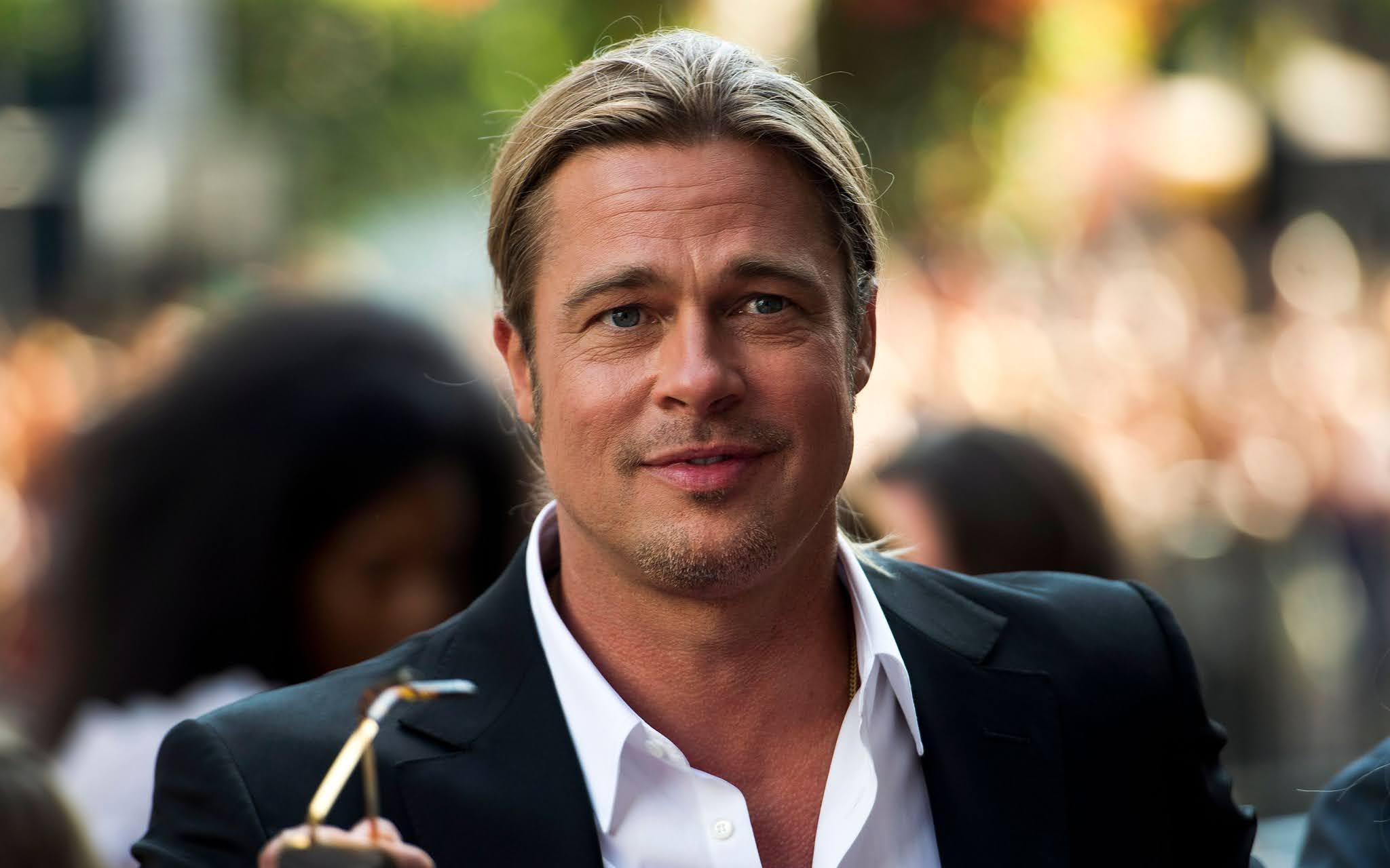 Brad Pitt long hairs