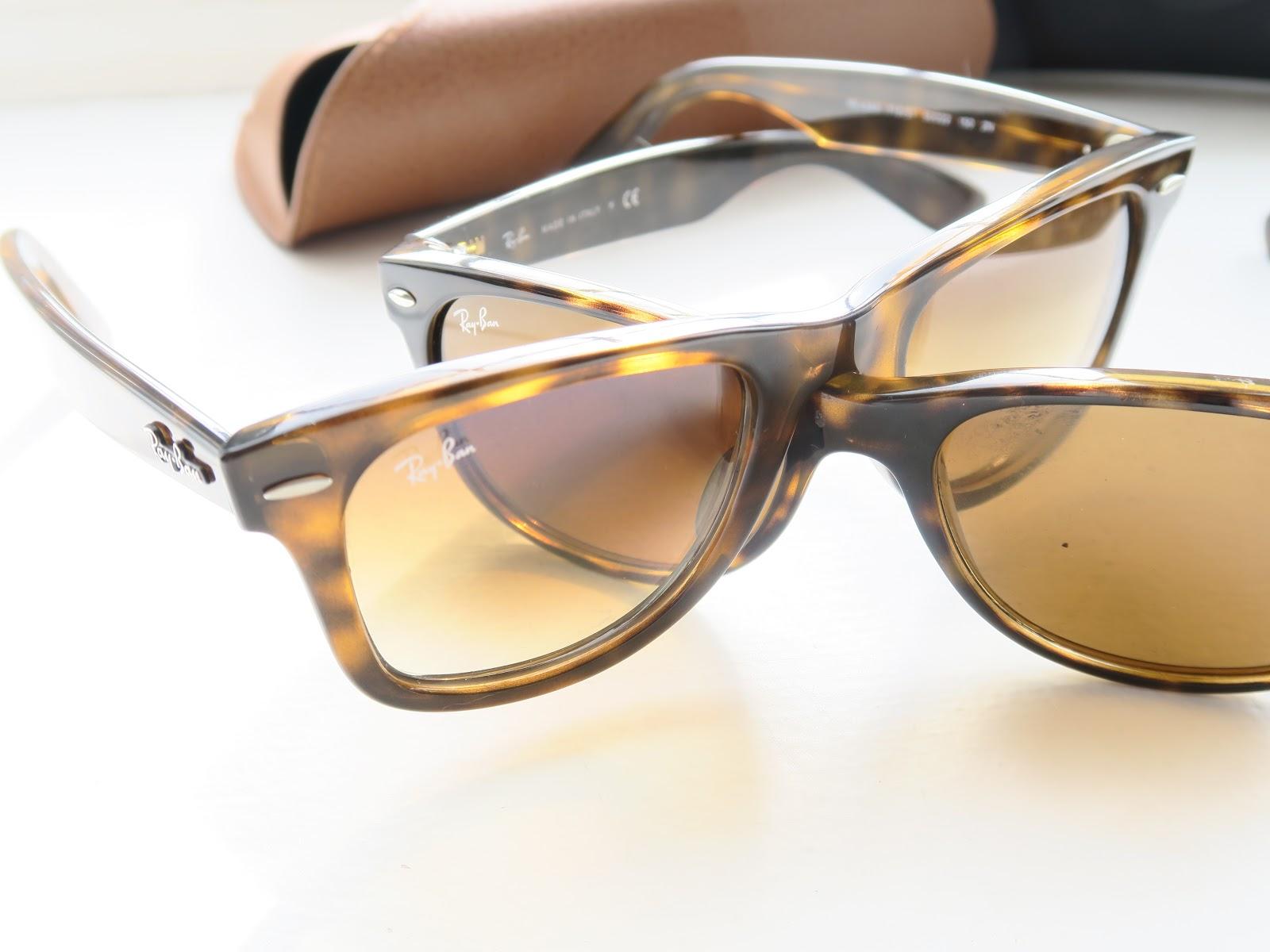 Fashion Blog: How To Spot FAKE Ray-Ban Sunglasses - Hello, Terri Lowe