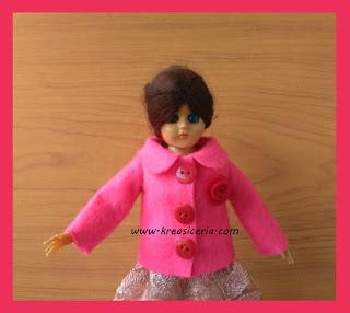 Cara Mudah Membuat Baju Boneka dari Kain Flanel