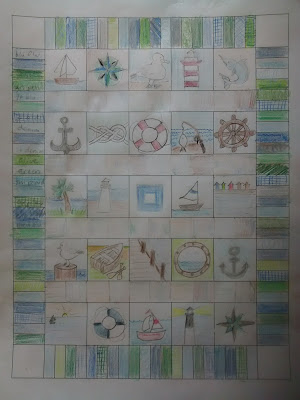 ProsperityStuff Concept Art for Nautical Quilt