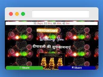 Diwali Wishing Script 2019