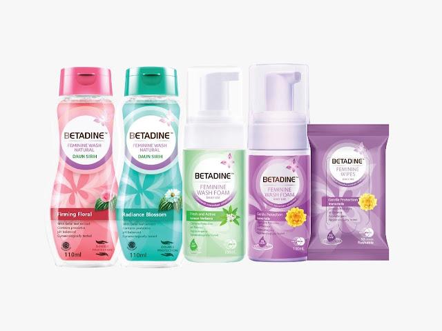 Betadine feminine