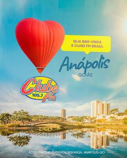 Rádio Clube FM estreia em Anápolis