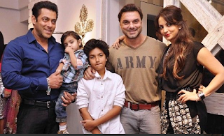 Sohail Khan Family