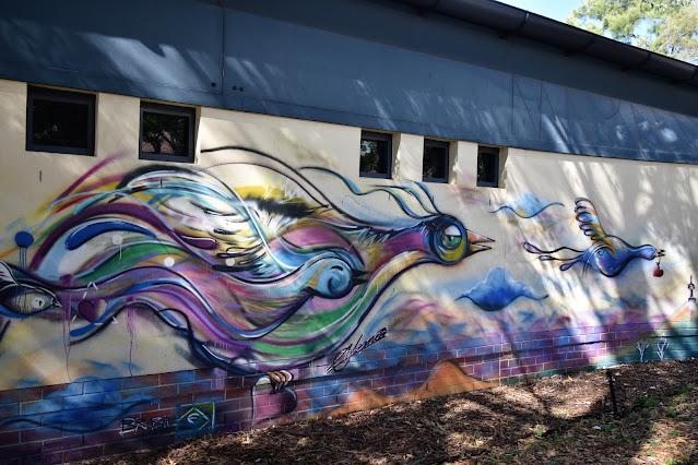 Canberra Street Art | Holt Mural by Alemao