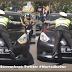 Ngeri, Polisi Tilang Mobil Bergaya Spiderman