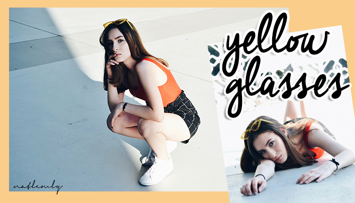 YELLOW GLASSES | OUTFIT