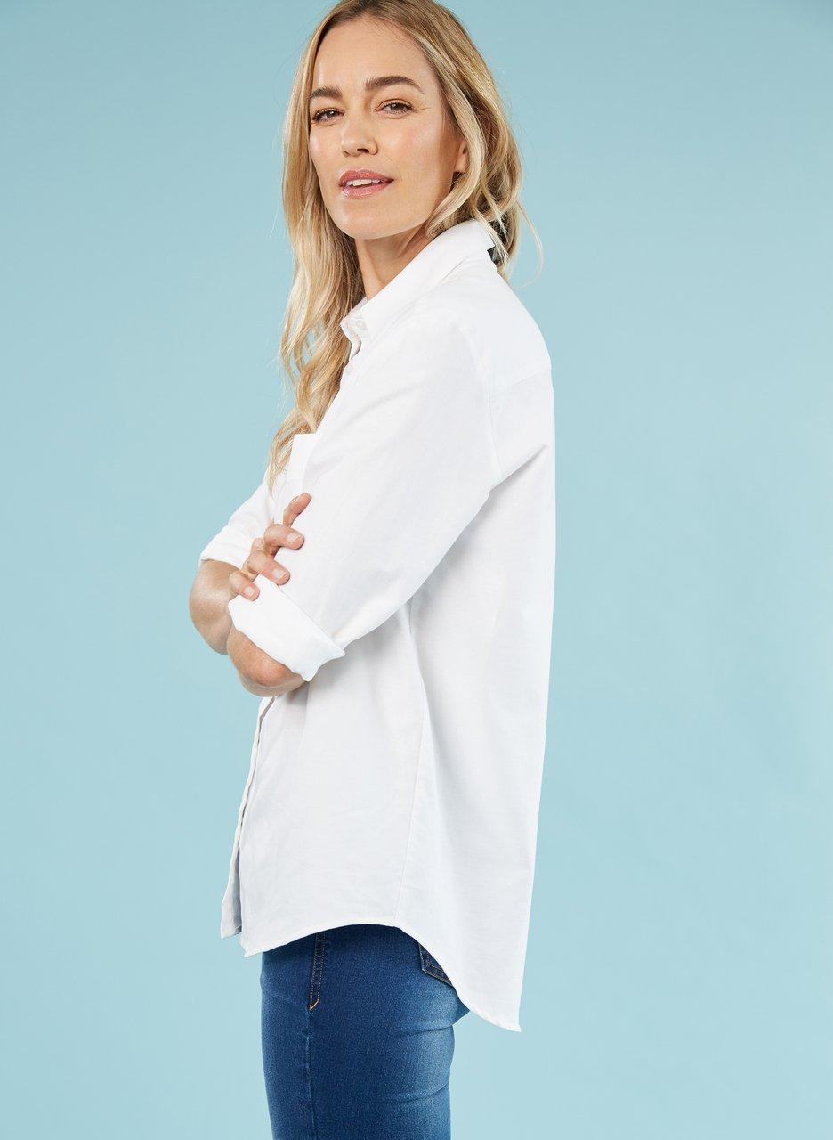 baukjen heather organic shirt