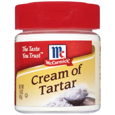 Cream of Tar-Tar ( Non Halal )