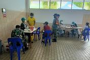Serbuan vaksinasi Koramil 02/TB Bersama Tiga Pilar Sasar Warga Kalianyar-Tambora